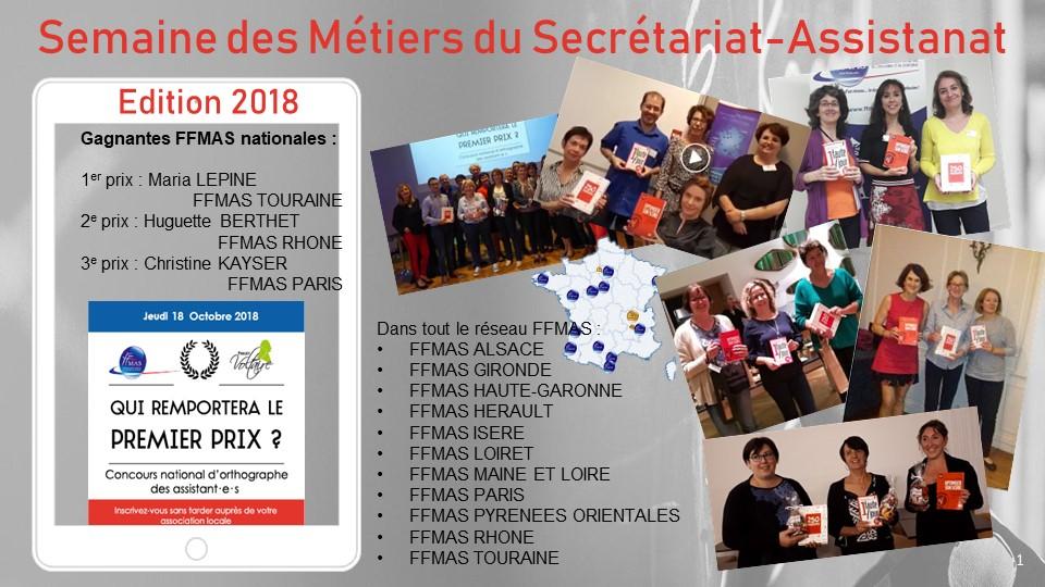 Résultats du concours national Voltaire-Ffmas