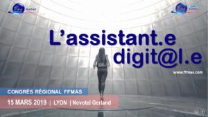 Congrès régional FFMAS Auvergne-Rhône-Alpes à Lyon le 15 Mars 2019