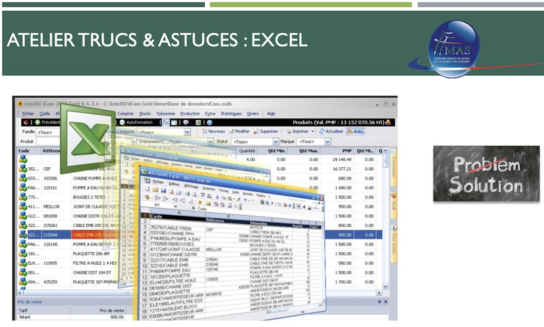 Excel : Les formules indispensables à connaître pour gérer et présenter vos tableaux de bord