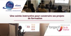 Retour sur la rencontre avec le Fongecif Ile-de-France du 5/11/2019