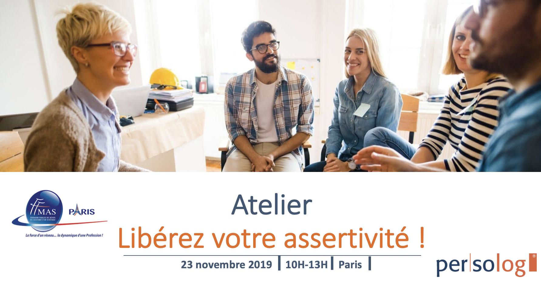 Atelier de développement personnel                          le 23/11/2019 – Paris 14ème
