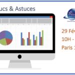 Atelier Excel : tableaux croisés dynamiques le 29/02/2020
