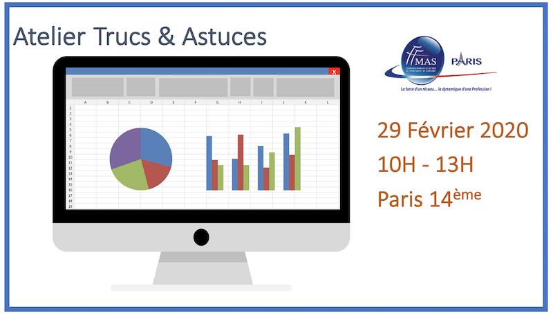 Atelier Excel Tableaux Croises Dynamiques Le 29 02 2020 Ffmas