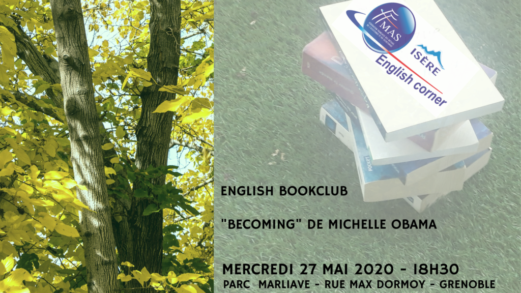 """ENGLISH BOOKCLUB"" – PARC MARLIAVE A GRENOBLE"