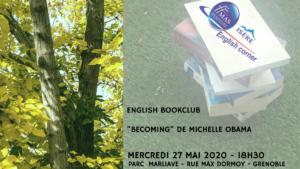 """ENGLISH BOOKCLUB"" – PARC MARLIAVE A GRENOBLE"
