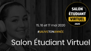 """La FFMAS sera présente au 1er Salon Étudiant Virtuel """"J'ai trouvé"""" 2020 !"""