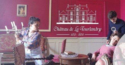 Cluedo géant et Dîner sur l'herbe au Château de la Tourlandry le 25 juin 2020