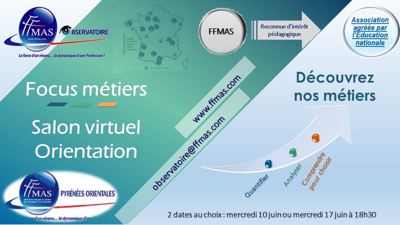 FFMAS 66 – Salon virtuel de l'orientation= activité close