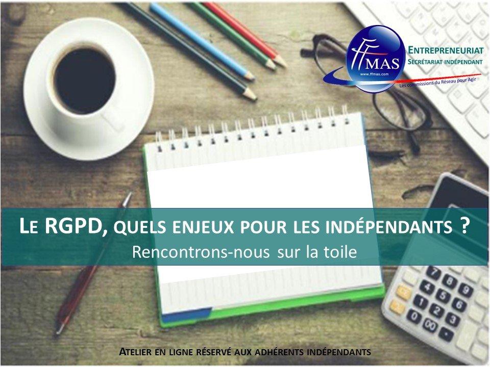 Atelier #5 | Le RGPD, quels enjeux pour les indépendants ?