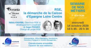 RSE, la démarche de la Caisse d'Epargne Loire Centre | mercredi 14 octobre 2020
