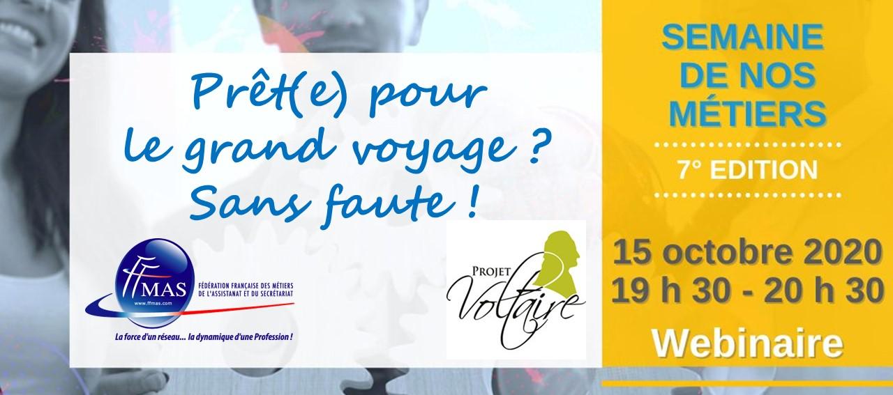 Dictée du Projet Voltaire | Semaine de nos métiers