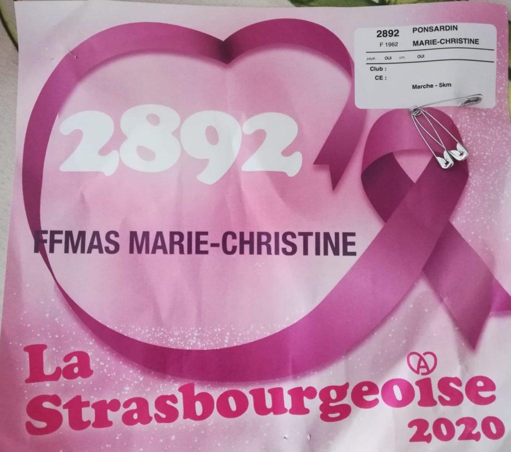 La Strasbourgeoise 2020 – Dimanche 04 octobre…