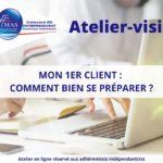 Atelier-visio  | Mon 1er client : comment bien se préparer ?