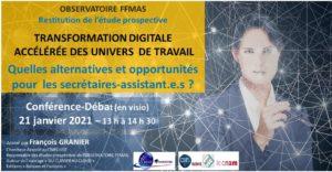 Transformation digitale accélérée des univers de travail