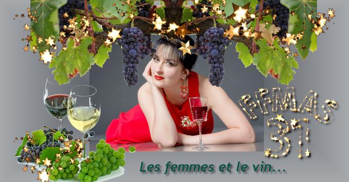 """FFMAS 31 – 21/12/20 – 18 h – Conférence visio """"Les femmes et le vin à travers l'histoire…"""" et pot convivial de fin d'année"""