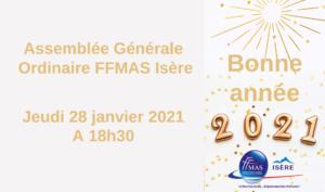 Assemblée Générale FFMAS Isère