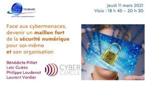 Face aux cybermenaces, devenir un maillon fort de la sécurité numérique pour soi-même et son organisation