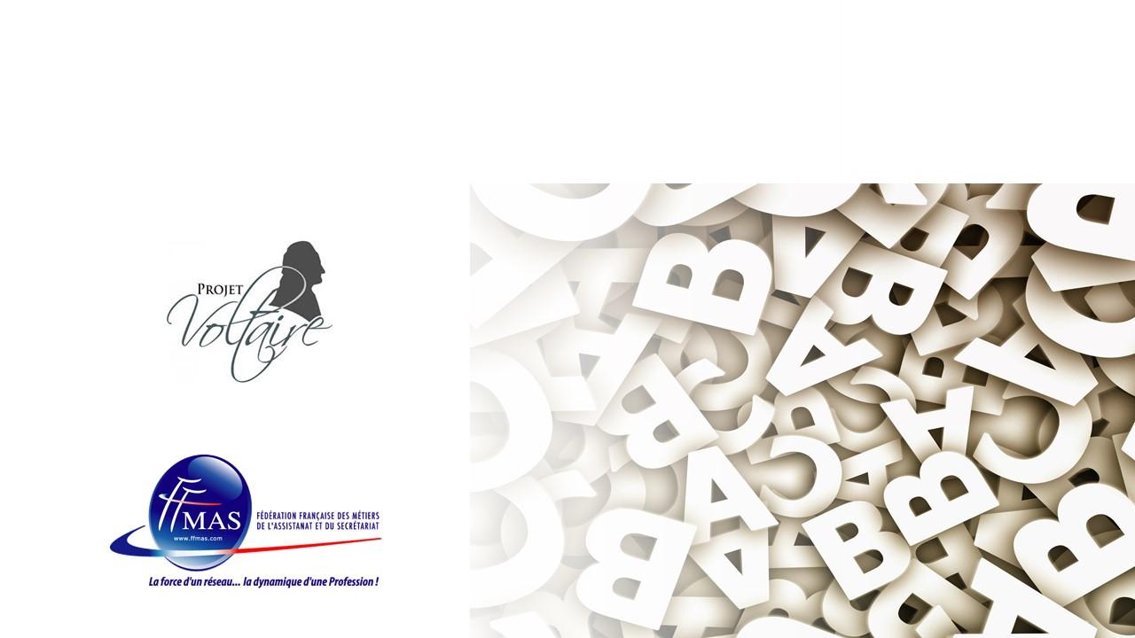 La FFMAS et le Projet Voltaire engagés ensemble pour vous accompagner vers l'excellence orthographique