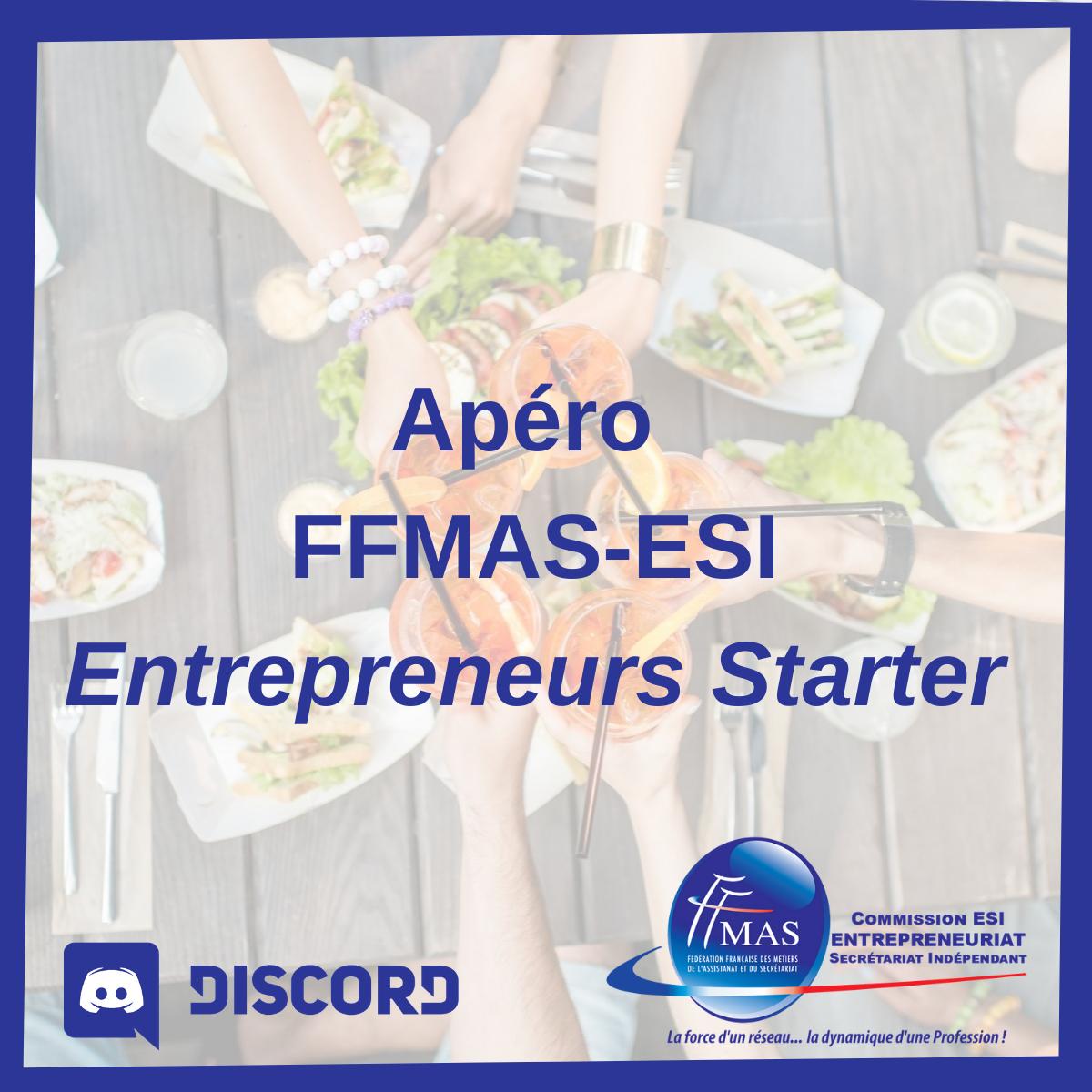 Apéro ESI Starter    Rdv le 4 juin 2021