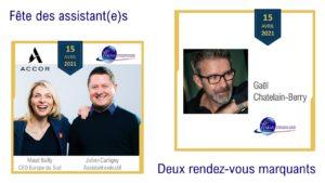 WEBINARE Maud Bailly et Gaël Chatelain