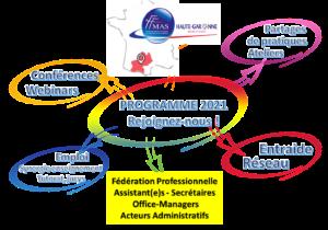 FFMAS31 – Le réseau des assistant(e)s de direction – Office-Managers – Fonctions Supports Administratives – Toulouse Occitanie – Programme 2021