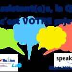 Assistant(e)s : la QVT, c'est VOTRE sujet ! Venez en parler le 22 juin de 13h à 14h.