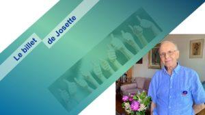 Le billet de Josette | Quelqu'un de bien face aux pilleurs !
