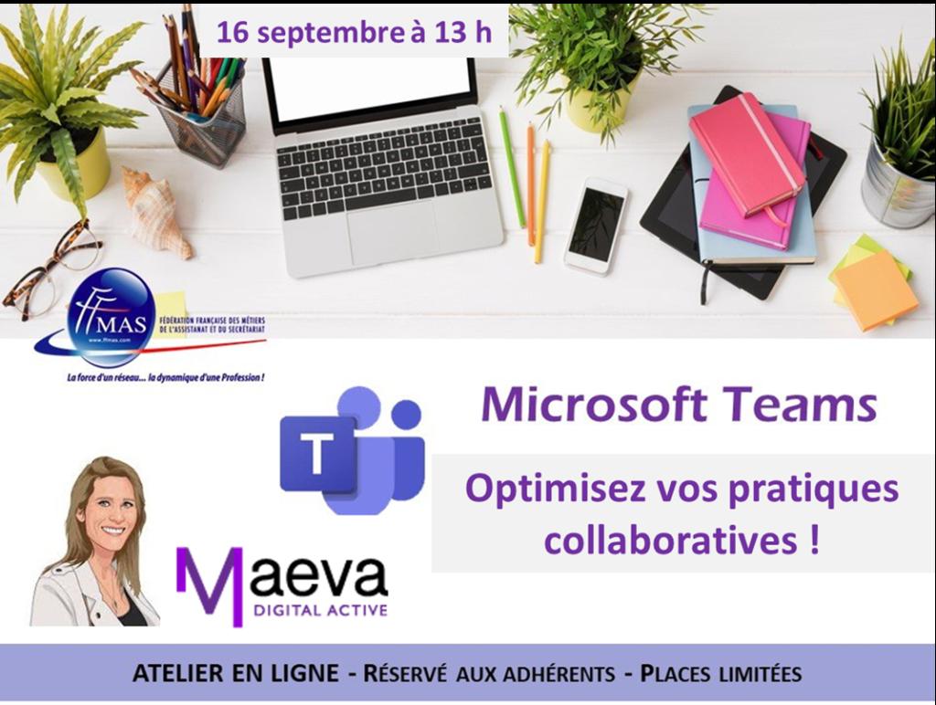 Assistant(e)s : optimisez vos pratiques collaboratives avec TEAMS